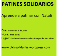 patines solidarios