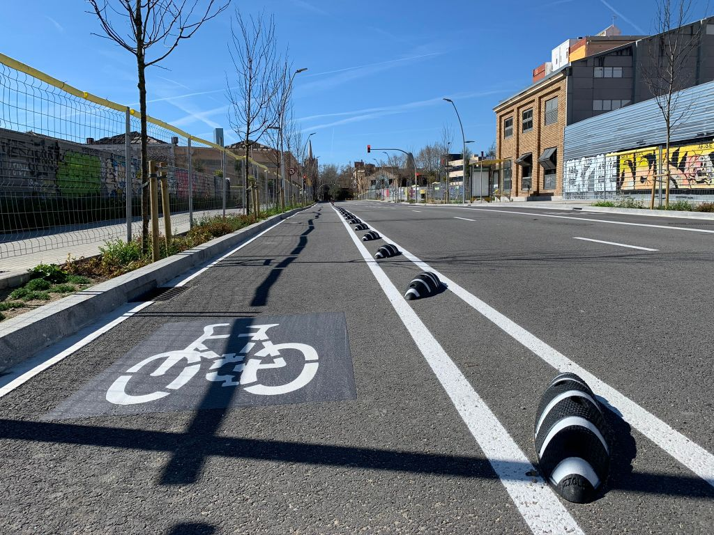 Biciway presents the new Zebra ZERO cycle lane delineator