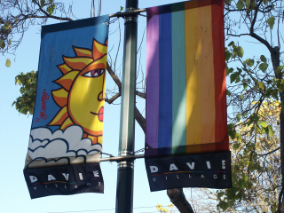 Davie Village Banners