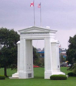 "The Peace Arch: ""May These Gates Never Be Closed"""