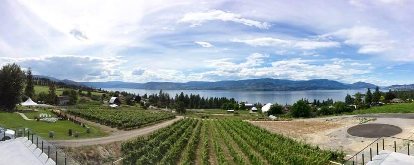 Summerhill Pyramid Winery in Kelowna, BC