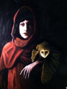 Jonny Kelson Messenger, 2014 [JK.05] Oil on Canvas 48 x 36 in.