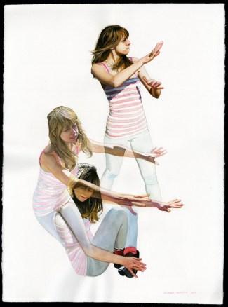 Michael Gaughan Alberta in the Sun, 2011 [MG.03] Watercolor on paper 22 x 30 in.