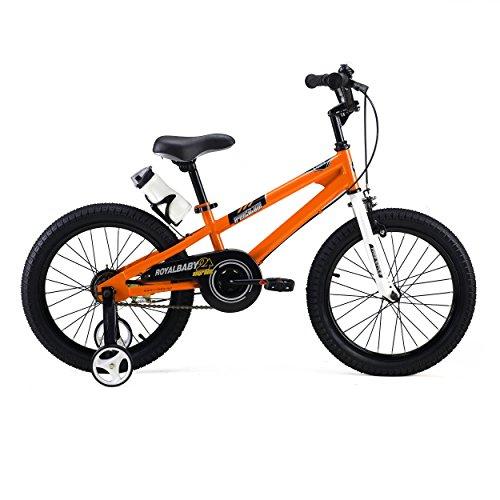 Royalbaby BMX Freestyle Kid\'s Bike, 18 inch wheels, Orange, With ...