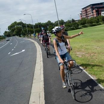 Liesbeek Park cycleway