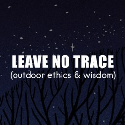 7 Leave No Trace Principles for camping and cycling in the wild