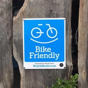 Bike Friendly Certified Signage