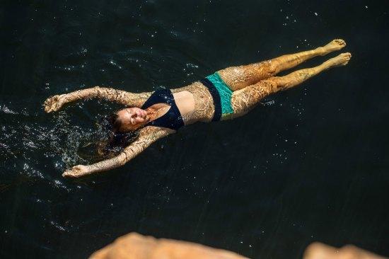 Maalgat swimming