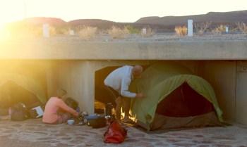 Roadside Wild camping