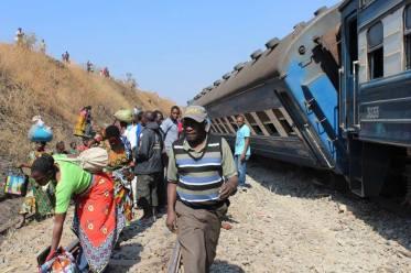 Tazara train derailment