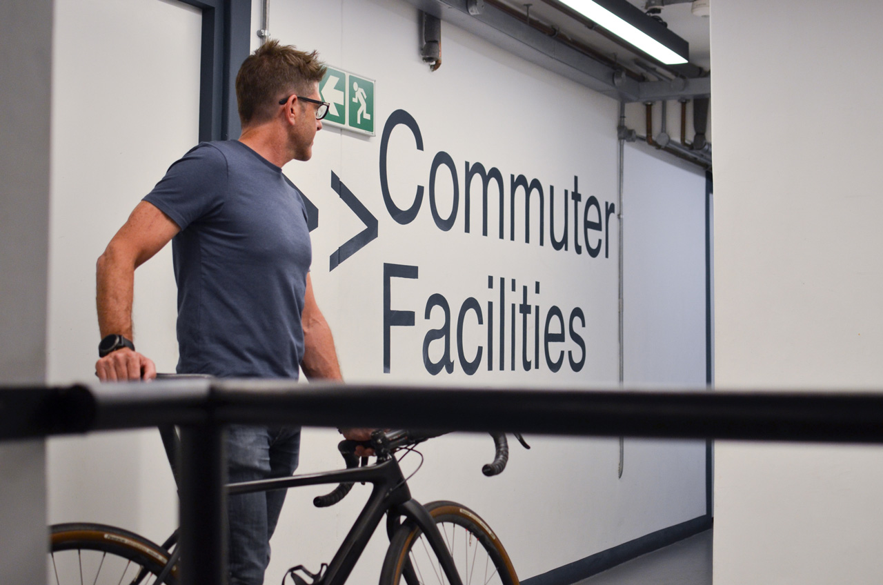 Bike Friendly Commuter Facilities at Workshop 17