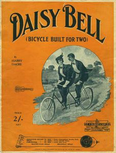 Daisy Bell - bicycle with man and woman