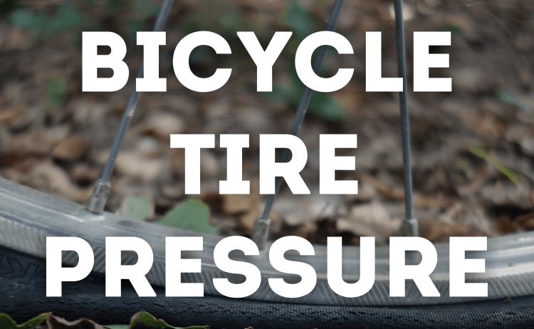 Bicycle Tire Pressure