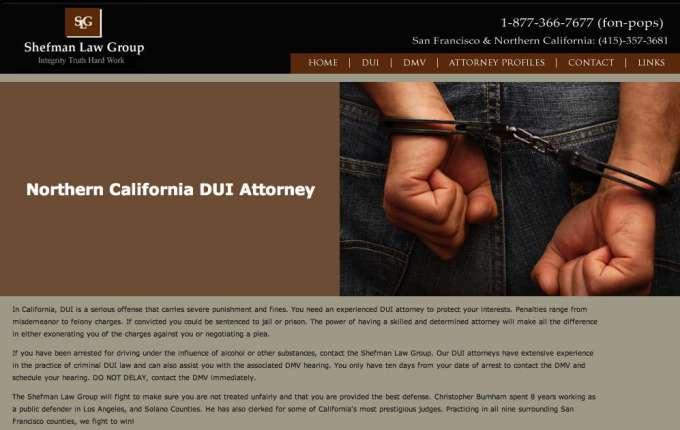 Shefman Law Group San Francisco