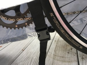 bike cover - buckle for restraint