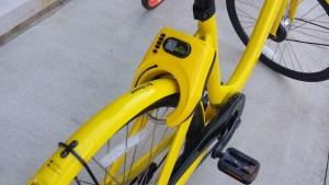 Bike Share Lock