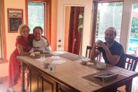 Another great Warmshowers stay in Ste-Anne des Lacs with Isabel & Sylvain. Merci beaucoup!