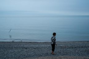 Lake Ontario is enormous