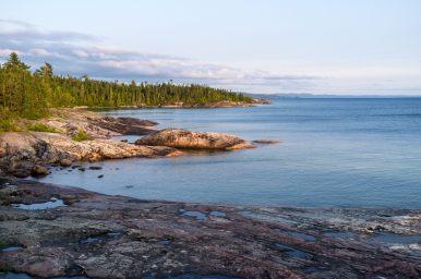 Camp spot in Lake Superior Prov.Park