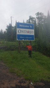 On a cold, rainy day we finally entered the behemoth that is Ontario