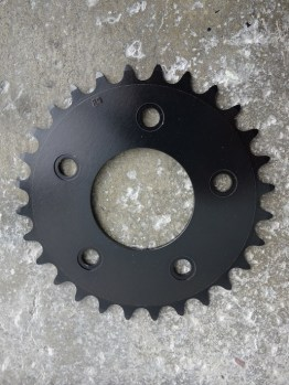 Rare Mavic Mountain Bike inner chainring for 637 triple MTB chainset from the early 90s