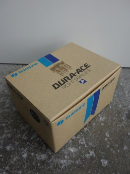New in the box black edition first generation Shimano Dura Ace front mech