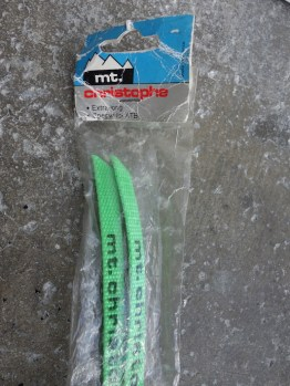 NOS Mt Christoiphe Mountain Bike nylon toe straps