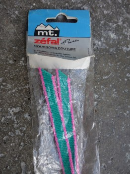 NOS Mt Zefal Mountain Bike nylon toe straps