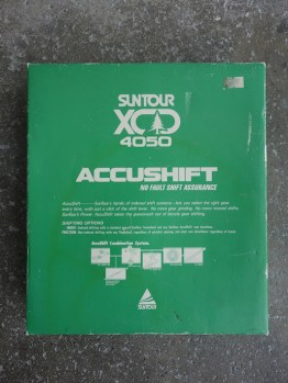 NOS Mini gear groupset from Suntour - XCD 4050