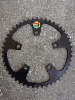 Mavic MTB outer chainring for 637 cranks in black