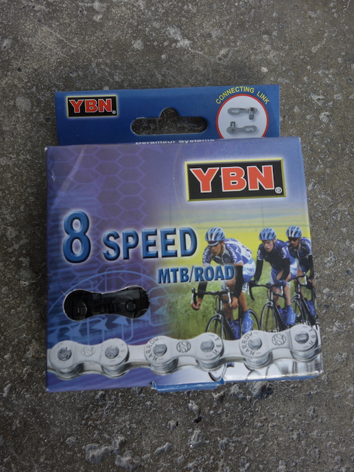 YBN branded chain for 5/6/7/8 speed transmissions