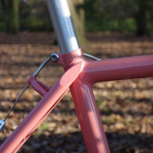 Anatomy of a vintage mountain bike - the finest workmanship