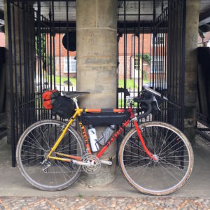 Vintage bike S48O - bike set up