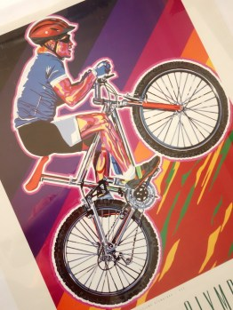 Olympic Games mountain bike race poster from 1996