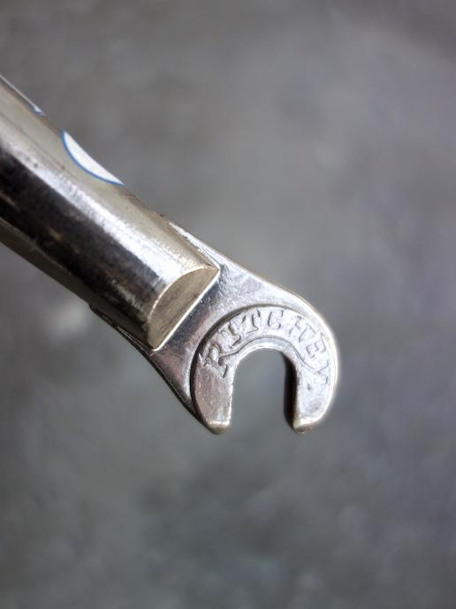 Ritchey Logic fork – chrome