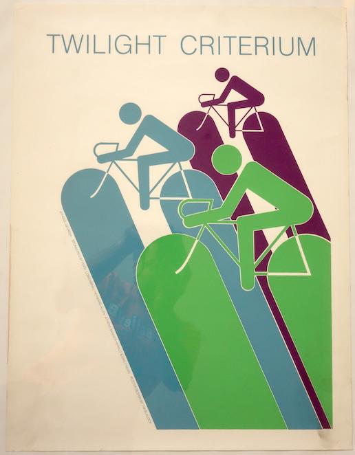 Twilight Criterium poster Athens Georgia