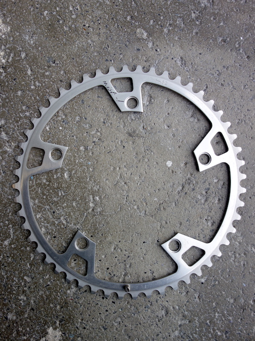 Ofmega Mistral chainring outer ring 52 and 53
