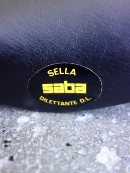 SABA Dilettante D.L saddle