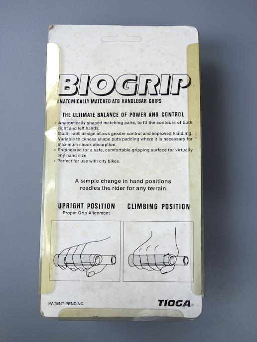 Tioga Biogrip II grips –Neon green