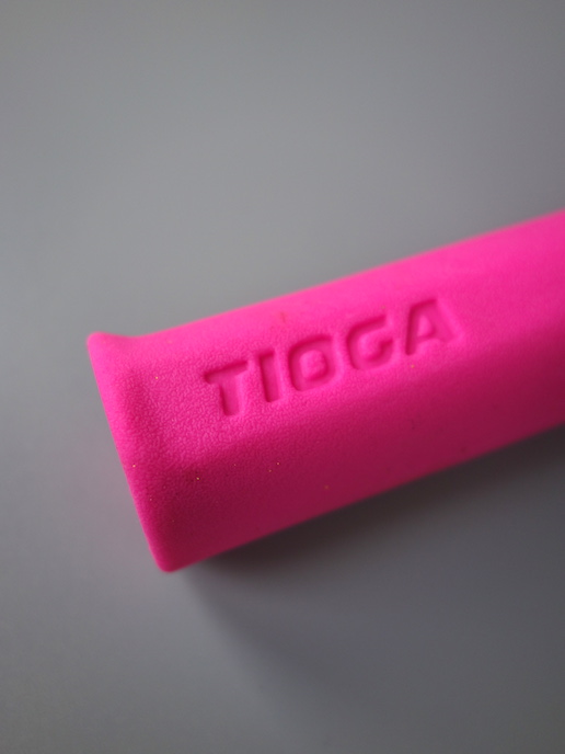 Tioga Biogrip II grips –Neon pink