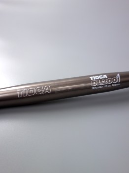 Tioga DL2001 MTB flat bar – Titanium grey