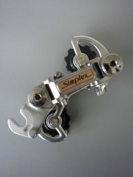 Simplex SX 410 GT rear mech