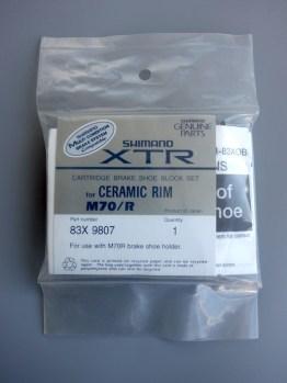 Shimano XTR M900 Ceramic brake blocks –M70/R