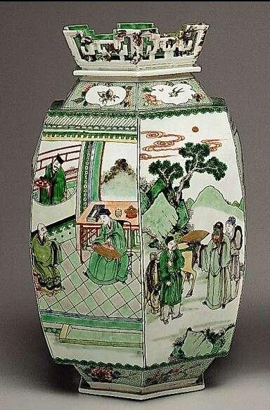 Hexagonal Lantern Kangxi Period