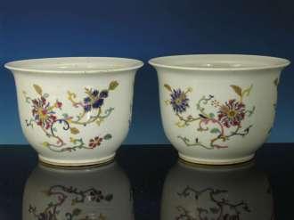 Pair Republican Period Cache Pots or Planters