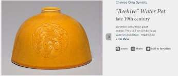 19th C. Chinese Beehive Pot