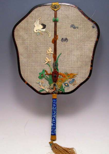 18th C. Imperial Qianlong Court Fan