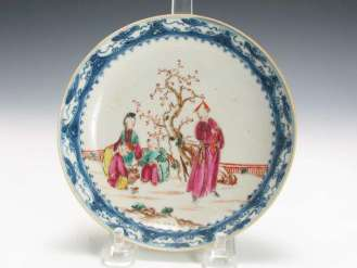 18th C. Chinese Export Plate