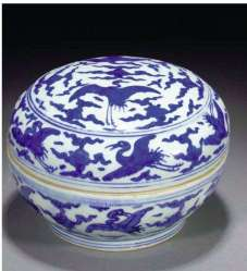 Jiajing Blue and White Porcelain Photo Archive