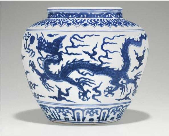 Ming Dynasty blue and white